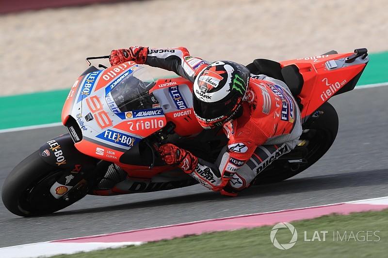 Lorenzo: Motosiklet kanatçıksız daha iyi