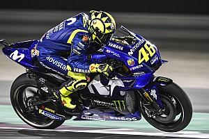 MotoGP Reaktion Rossi und Vinales mit Rückstand - Sorge um Reifenverschleiß