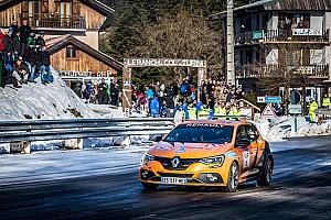 WRC Actualités Vidéo - Sainz au volant de la Mégane RS sur le Monte-Carlo
