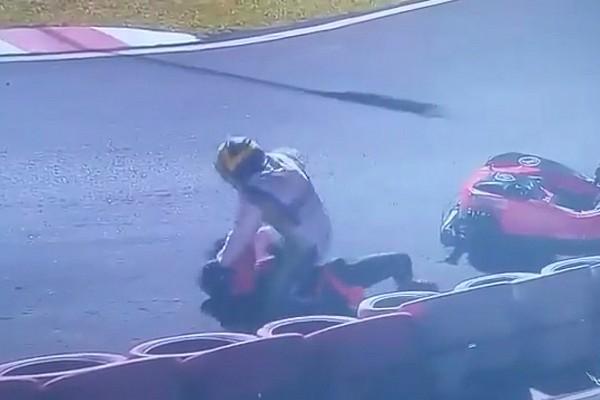 """Kart Breaking news Massa saddened by Brazil kart """"war"""" after on-track brawl"""