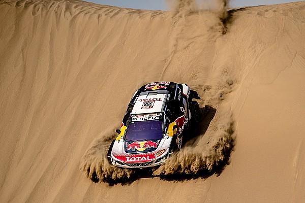 Три Peugeot возглавили «Дакар» после четвертого этапа