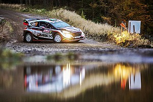 WRC Leg report Wales WRC: Evans in control, Ogier leapfrogs rivals