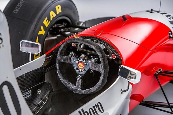 Ecclestone s'offre la McLaren-Ford d'Ayrton Senna