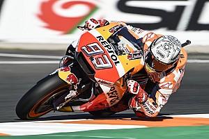 MotoGP Отчет о квалификации Маркес завоевал поул финального этапа MotoGP, Довициозо девятый