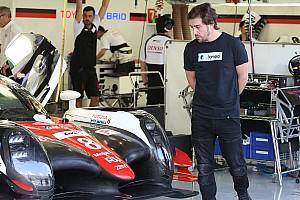 WEC Новость Тесты Алонсо с Toyota в Бахрейне подтверждены официально
