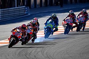 Hoe laat begint de MotoGP Grand Prix van Valencia?