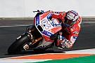 MotoGP Le comportement en virage, l'axe de progression principal de Ducati