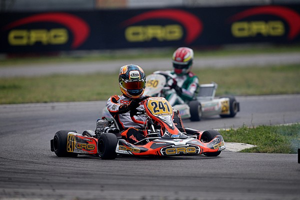 Kart Noticias Hiltbrand, segundo en la tercera cita de la WKS Super Master Series