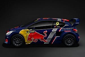Rallycross-WM News Einmal Loeb und zweimal Hansen: Peugeot stellt WRX-Team vor