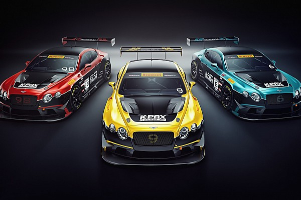 K-PAX Racing switches to Bentley GTs for 2018