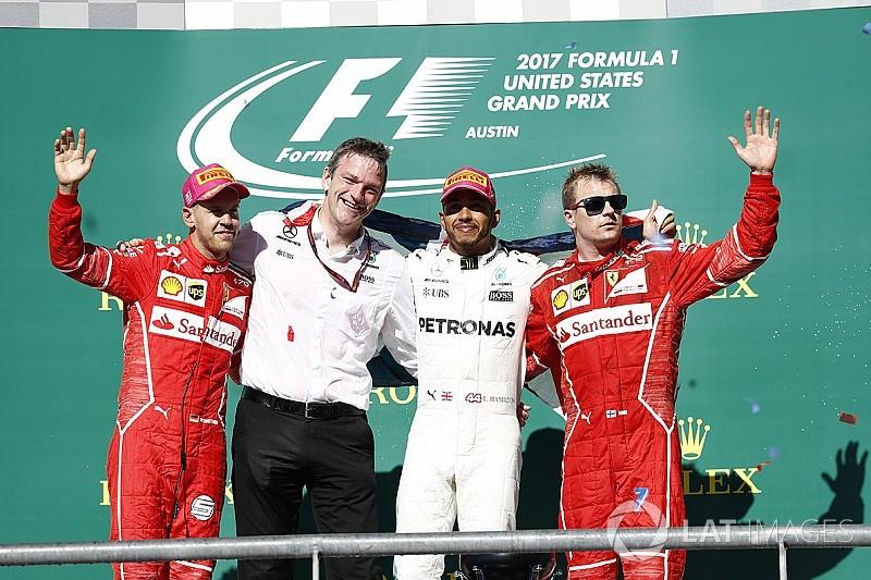 Гран Прі США: Хемілтон не залишив шансів Феттелю в гонці