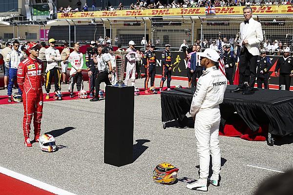 Formule 1 F1 verdedigt rijderspresentaties Austin na kritiek