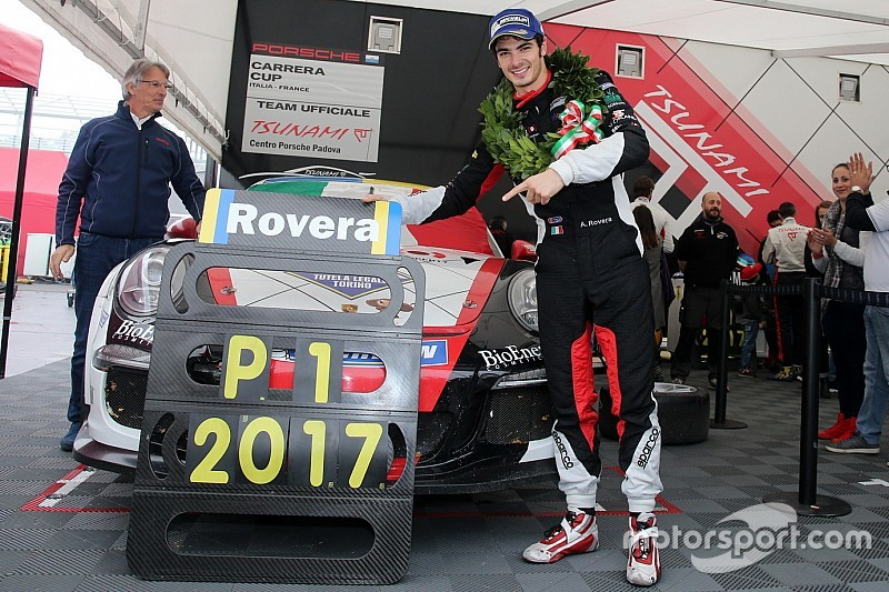 Carrera Cup Italia, con Rovera-zen la freddezza sale al potere