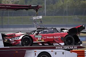 DTM Relato da corrida Mortara vence em prova marcada por capotagem de Rast