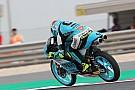 Moto3 Moto3 Qatar: Dalla Porta topt warm-up, crash voor favoriet Martin