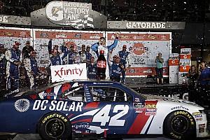 NASCAR XFINITY Race report Kyle Larson takes wild Daytona Xfinity win as Haley gets disqualified