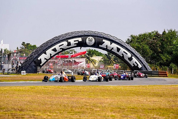 Indian Open Wheel Race report MRF Chennai: Presley bendung serangan van Kalmthout di Race 3