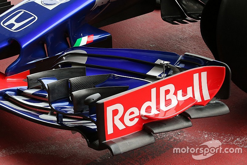 Toro Rosso reveals unique new front wing