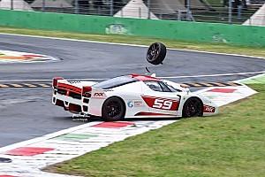 Autó BRÉKING Olyat csattant a Ferrari FXX EVO, hogy azt még nézni is fáj