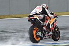 Australian MotoGP: Marquez dominates wet FP3 but is among crashers