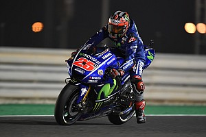 MotoGP Relato da corrida Estreando pela Yamaha, Viñales vence no Catar; Rossi é 3º