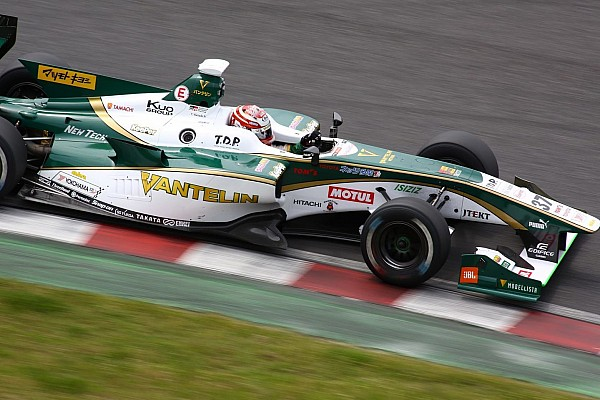 Super Formula Race report Suzuka Super Formula: Nakajima cruises to win first race of 2017