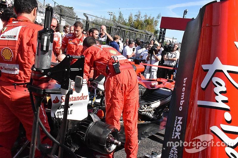 A legapróbb alkatrészt is 20 percig tart kicserélni a Ferrariban