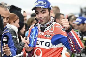 MotoGP Reaktion Petrucci feiert