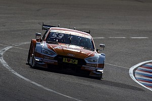 DTM Race report Lausitzring DTM: Green passes Wickens to win Race 2