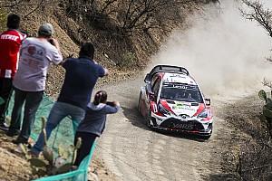WRC Preview Deuxième défi sur terre pour la Toyota Yaris WRC