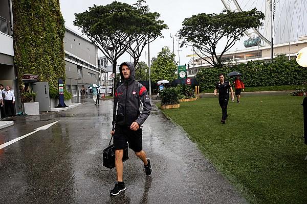 F1 2017 in Singapur: Regen laut Grosjean problematisch