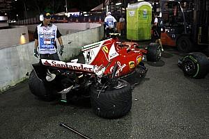 F1 Noticias de última hora Primer doble abandono de Ferrari desde el GP de México de 2015