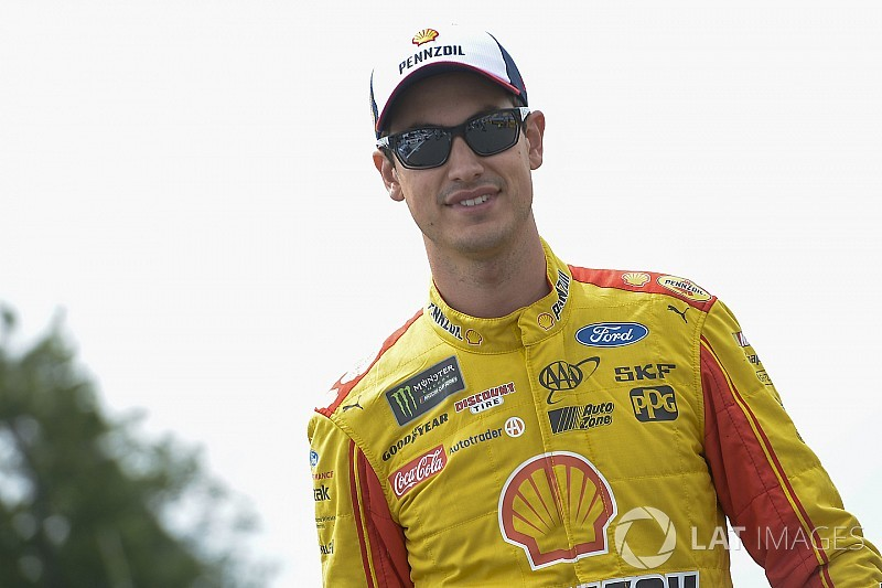"Logano on fatherhood: ""You don't know what you don't know"""
