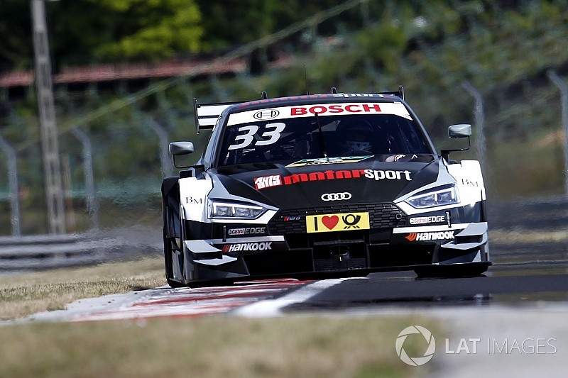 DTM 2017 in Budapest: Rene Rast erzielt 2. Pole-Position für Audi
