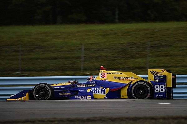"""IndyCar Rossi: Alternative tire strategy was """"confidence building"""""""