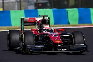 FIA F2 Reporte de la carrera Matsushita festejó en la segunda carrera de la F2