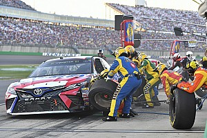 NASCAR Cup Analysis Why a fuel-only pit stop could decide the Cup race at Kentucky