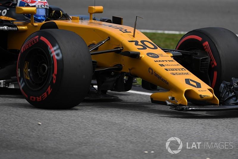 "Palmer culpa Verstappen por acidente ""bobo"""