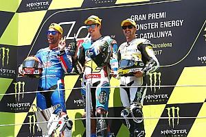 Moto2 Actualités Mattia Pasini se voit retirer sa 2e place de Barcelone