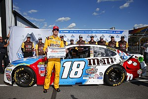 NASCAR Cup Qualifying report Kyle Busch takes Pocono pole over Truex
