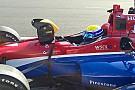 Уррутіа вражений своїми першими тестами в IndyCar
