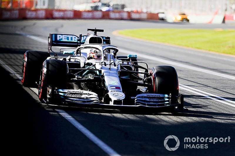 Mercedes: poche novità, ma il pacchetto è stato ottimizzato meglio che nei test