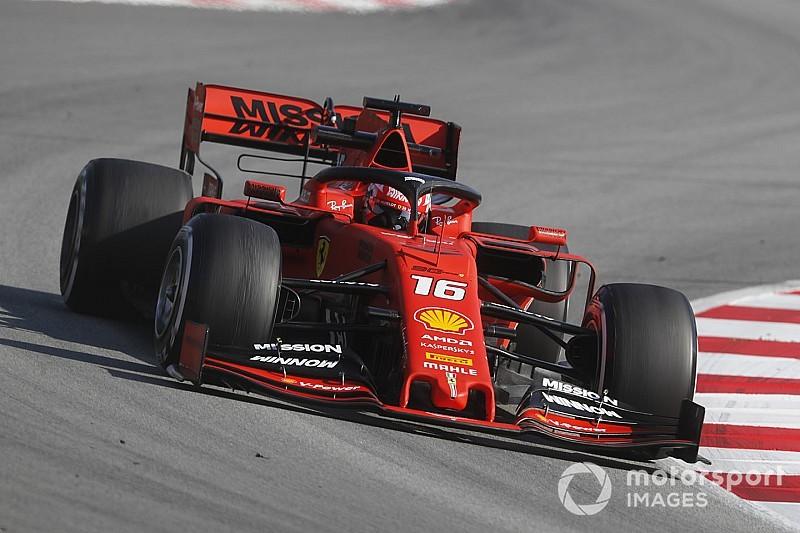 Test F1 Barcellona, Giorno 3: Leclerc fa volare la Ferrari. Gasly distrugge la Red Bull