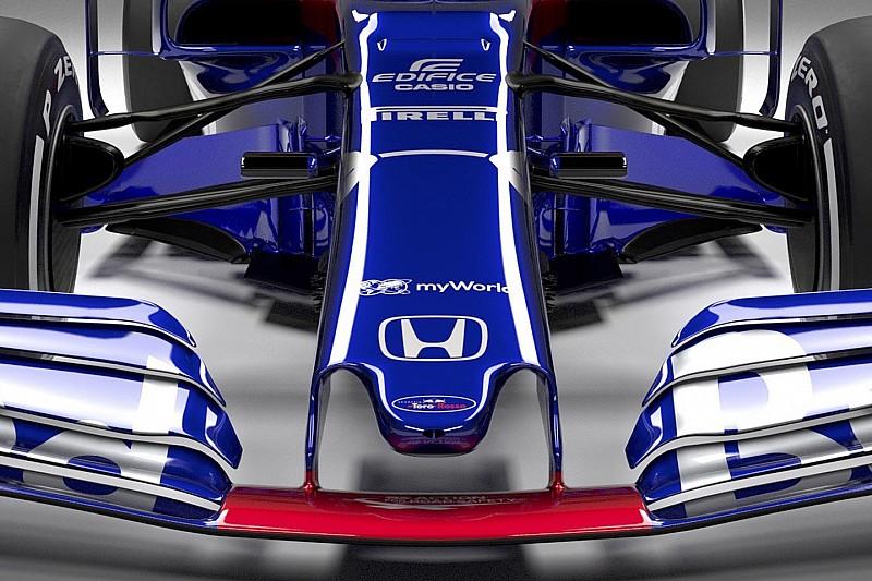 La comparaison des Toro Rosso STR13 et STR14