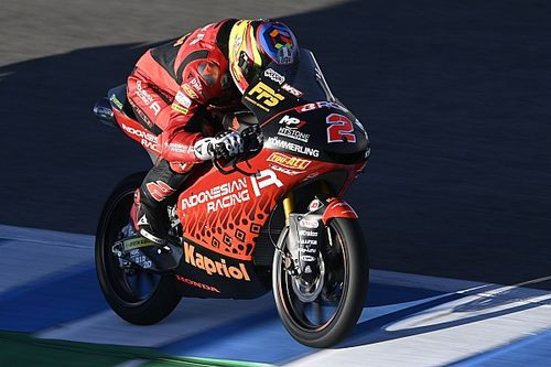 Moto3 Barselona 2. antrenman: Rodrigo lider, Deniz 17. sırada