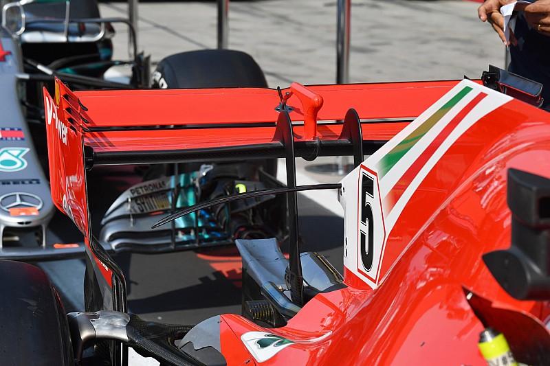 Kanat kurallarındaki geç değişiklik, F1'in arka görüş için en iyi ödünlerinden birisi oldu