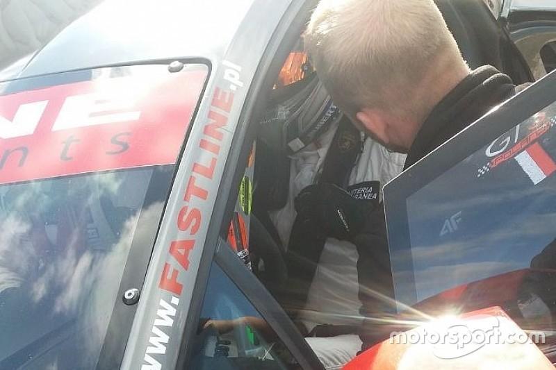 Paolo Ruberti al via dell'ultima gara del Gran Turismo polacco!