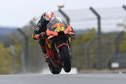 KTM finally debuts MotoGP holeshot start device