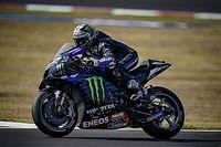 """MotoGP: Viñales vence GP da Emilia Romagna que """"caiu no colo"""" após queda de Bagnaia"""