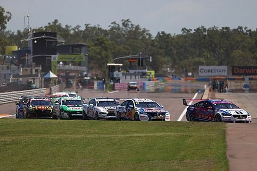 2020 Supercars Darwin Supersprint race results